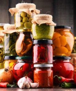 PRESERVED VEGETABLES & FRUIT